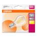 OSRAM LED STAR CL P Filament 4W 827 E27 470lm 2700K (CRI 80) 15000h A++ (Blistr 1ks)