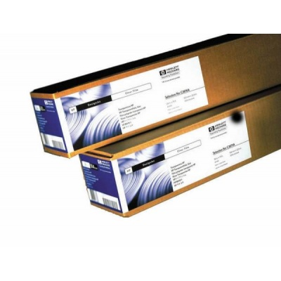 HP Clear Film-610 mm x 22.9 m (24 in x 75 ft),  5.2 mil,  174 g/m2, C3876A