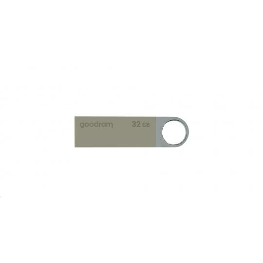 GOODRAM Flash Disk UUN2 8GB USB 2.0 stříbrná