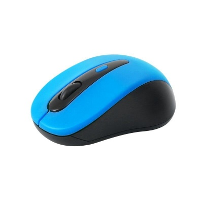 OMEGA myš OM-416, bezdrátová 2,4GHz, 1600 dpi, nano USB přijímač, modrá