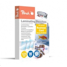 Peach Laminating Pouch Business Card (60x90mm), 125mic