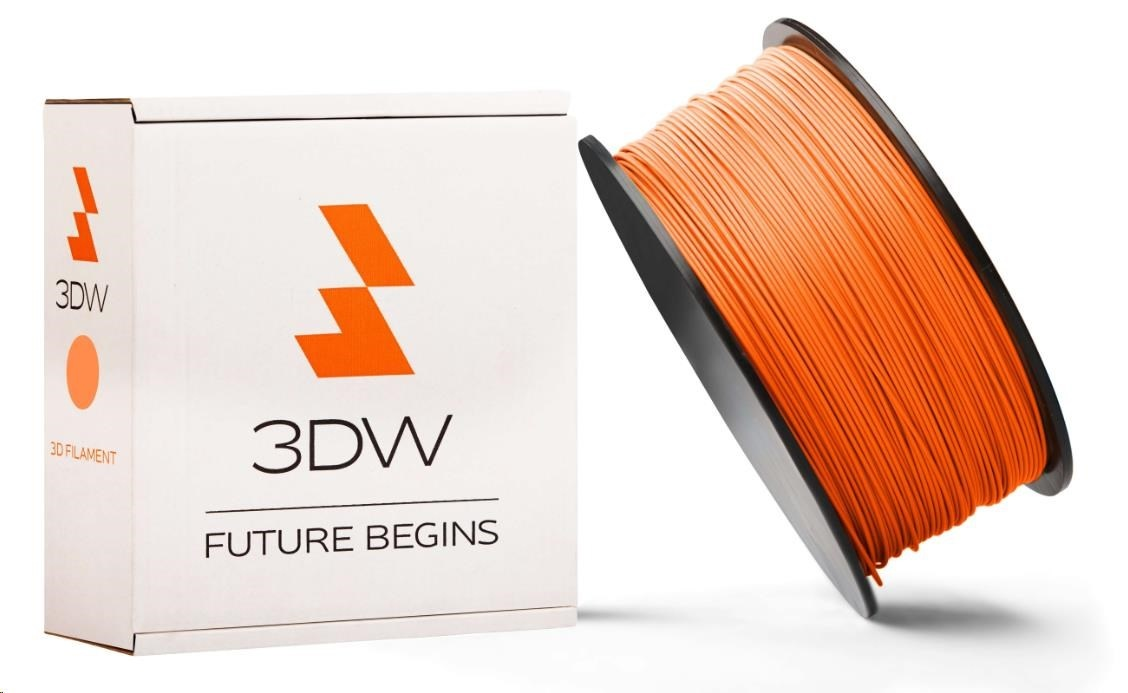 ABS 3DW ARMOR filament, průměr 2,9mm, 1Kg, Oranžová