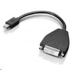 LENOVO adaptér Mini-DisplayPort to DVI Monitor Cable - přenos signálu přes miniDP na DVI