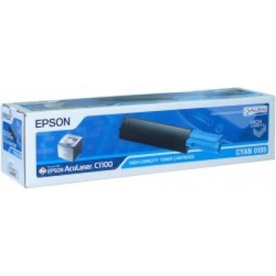 EPSON Toner bar AcuLaser C1100/C1100N/CX11N - Cyan (4000 stran)