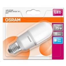 OSRAM LED STAR CL STICK Fros. 10W 840 E27 1050lm 4000K (CRI 80) 15000h A+ (Blistr 1ks)