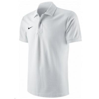 Nike pánská polokošile TS Core WHITE/BLACK velikost M