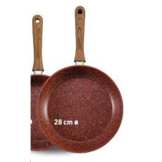 Livington Copper & Stone Pan 28 cm