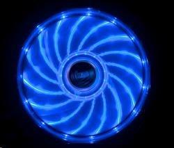AKASA Vegas PC chladič, podsvícený, 15 led diod, modrý