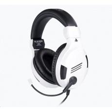 Bigben herní sluchátka s mikrofonem - bílé
