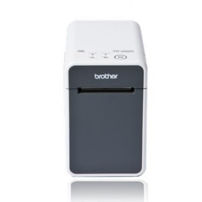 BROTHER tiskárna štítků TD-2020 USB, RS232, (203 dpi, max šířka štítků 63 mm) – možno použít OEM spotřební materiál