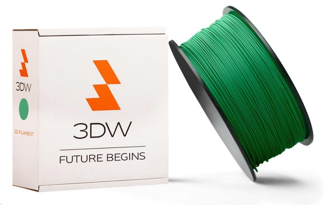 3DW ARMOR - PLA filament, průměr 1,75mm, 1kg, zelená