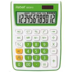 REBELL kalkulačka - SDC912 GR - zelená