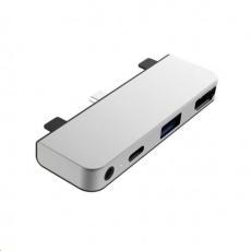 HyperDrive 4-in-1 USB-C Hub pro iPad Pro - Stříbrný