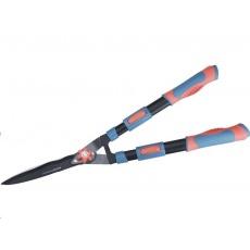 Extol Premium (8873716) nůžky na živý plot s vlnitým ostřím teleskopické, 690-890mm