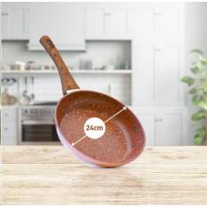 Livington Copper & Stone Pan 24 cm