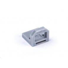 SMARTKEEPER Mini USB Port Lock Type B 4 - 1x klíč + 4x záslepka, šedá