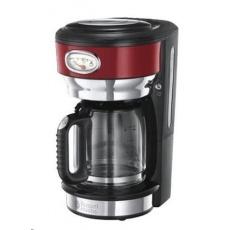RUSSELL HOBBS 21700 Kávovar - RETRO glass red