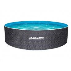 Marimex Bazén Orlando 3,66x1,22 m bez příslušenství - motiv RATAN