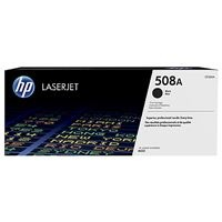 HP 508A Black LJ Toner Cartridge, CF360A