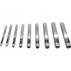 Extol Craft (10266) děrovač kůže, sada 9ks, 2-3-4-5-6-7-8-9-10mm