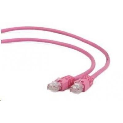 GEMBIRD Patch kabel CAT6 stíněný FTP 0,5m, růžový