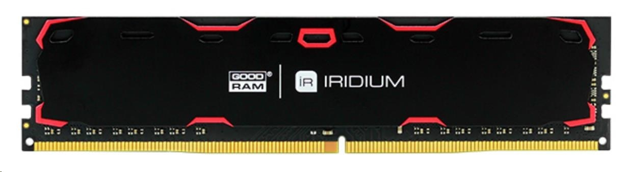 DIMM DDR4 4GB 2400MHz CL15 SR GOODRAM IRDM, black