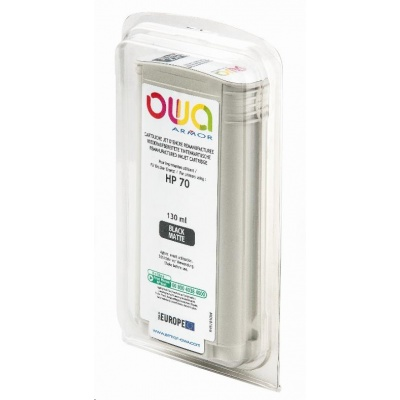 OWA Armor cartridge pro HP DesignJet Z 2100, 3100, 130ml, C9448A, Black Mat