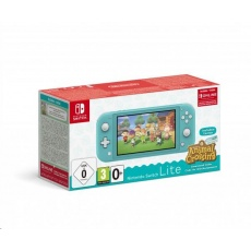 Nintendo Switch Lite Turquoise + ACNH + NSO 3 měsíce