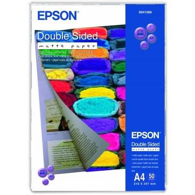 EPSON Paper A4 Double Sided Matte - 50 Blatt, 178g/m2