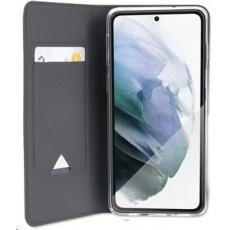 4smarts flipové pouzdro URBAN Lite pro Samsung Galaxy S21+, černá