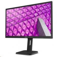 """AOC MT IPS LCD  WLED 23,8"""" 24P1 - IPS panel, 1920x1080, 250cd/m, 5ms, D-Sub, DVI, HDMI, DP, USB, repro, pivot"""