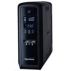CyberPower PFC SineWare LCD GP UPS 1300VA/780W, Schuko zásuvky