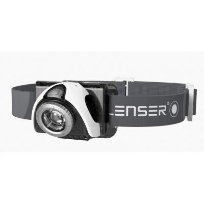 LEDLENSER SEO 5 LED čelovka - šedá