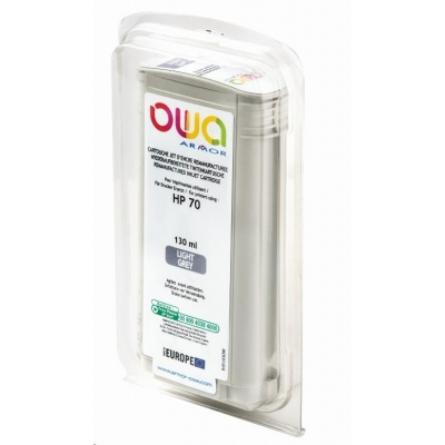 OWA Armor cartridge pro HP DesignJet Z 2100, 3100, 130ml, C9451A, light Grey