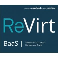 ReVirt BaaS | Veeam Cloud Connect License (1VM/12M)
