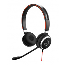 Jabra náhlavní souprava Evolve 40, stereo, USB-C + 3,5 mm jack