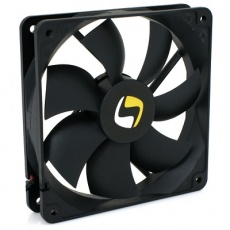 SilentiumPC přídavný ventilátor Mistral 120/ 120mm fan/ ultratichý 21 dBA