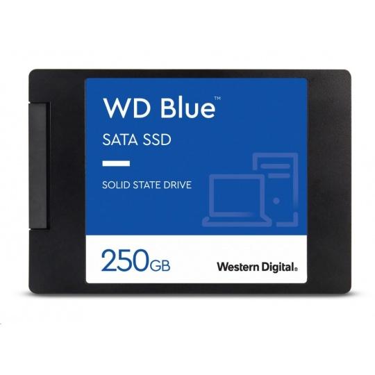 "WD BLUE SSD 3D NAND WDS250G2B0A 250GB SATA/600, (R:550, W:525MB/s), 2.5"""