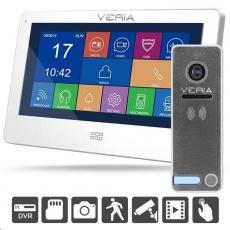 SET Videotelefon VERIA 7077B bílý + VERIA 230