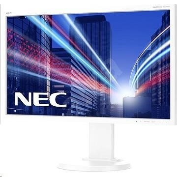 "NEC MT 24"" LCD MuSy E243WMi White W-LED IPS,1920x1080/60Hz,6ms,1000:1,250cd,audio,DVI-D+DP+VGA,16:9,FullHD"