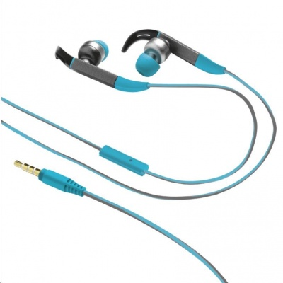 TRUST sluchátka Fit In-ear Sports Headphones - blue