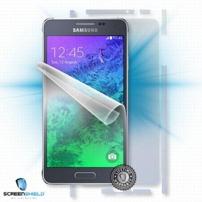 ScreenShield fólie na celé tělo pro Samsung Galaxy Alpha (SM-G850)
