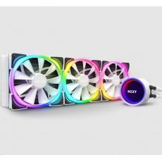 NZXT vodní chladič Kraken X73 RGB / 3x 120mm fan / LGA 2066/2011(-3)/1366/1156/1155/1151/1150/AM4/ bílá