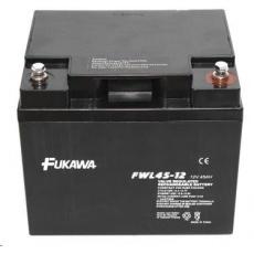 Baterie - FUKAWA FWL 45-12 (12V/45 Ah - M6), životnost 10let