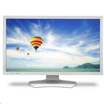 "NEC MT 24"" LCD MuSy PA242W-SV2 White GB-R LED AH-IPS,1920x1200/60Hz,6ms,1000:1,350cd,DVI+HDMI+VGA+DP,USB(2+3)gam 102%Ad"