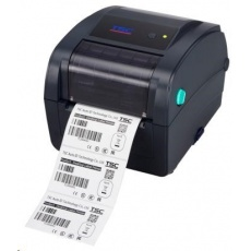 TSC TC200 Stolní TT tiskárna čárových kódů, 203 dpi, 6 ips LAN/USB/RS232
