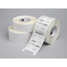 Zebra etikety PolyE3100T GLOSS, 102x102mm, 1,432 etiket, 76MM CORE