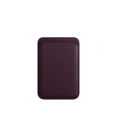 APPLE iPhone Leather Wallet with MagSafe - Dark Cherry