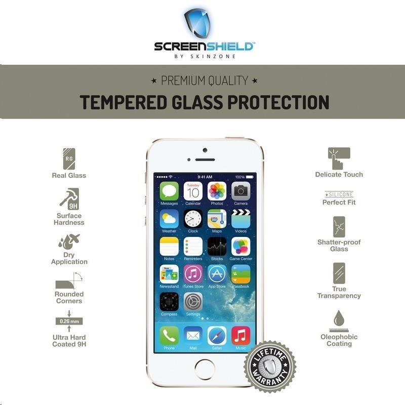 ScreenShield ochrana displeje Tempered Glass pro Apple iPhone 5/5S/5C