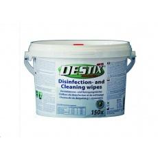 DESTIX Dezinfekční čistící utěrky MK75 v dóze (26x27cm, 150 ks), bezalkoholová báze